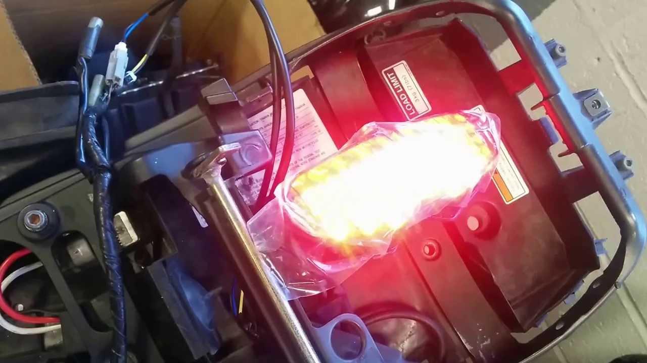 medium resolution of yamaha 03 05 r6 motodynamic sequential led tail lights turn signals youtube