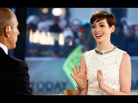 Anne Hathaway Owns Creepy Matt Lauer