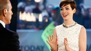 Anne Hathaway Owns Creepy Matt Lauer