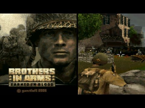 Brothers In Arms: Earned In Blood - Symbian Game (Gameloft 2006 Year)