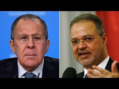 Russian & Yemeni FMs speak to press in Moscow