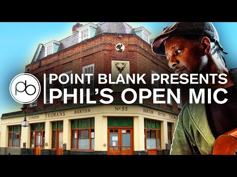 Point Blank Presents: Phil's Open Mic Night