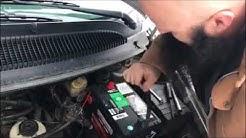 Dodge Caravan Easy Battery Change