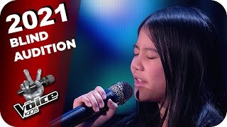 Mariah Carey - Emotions (Kirida) | The Voice Kids 2021 | Blind Auditions