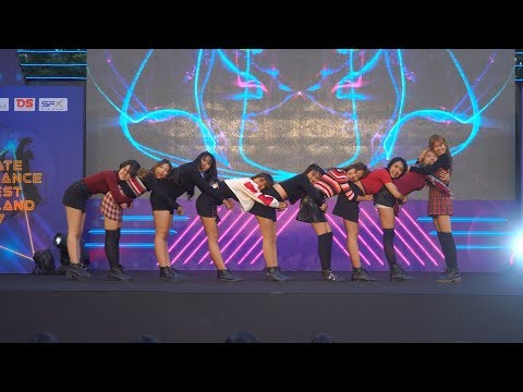 171216 Venus cover TWICE - LIKEY + Heart Shaker @ Ultimate Cover Dance 2017