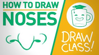 How To Draw Noses - DRAW CLASS