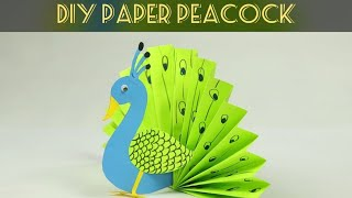 Origami Peacock 3D | How to make Paper Peacock Step by Step Easy Instructions Tutorial