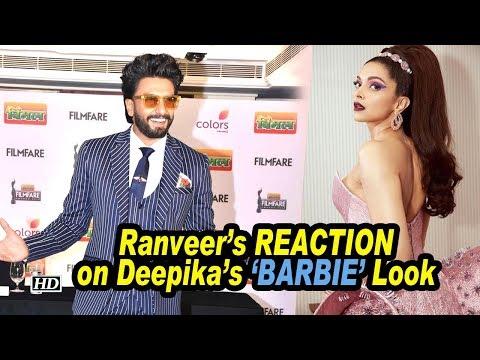 Ranveer's EPIC REACTION on Deepika's 'BARBIE' Look Mp3