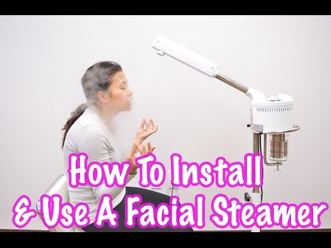 At-Home Facial Steamer For Baby Clear Skin! | Install & Use