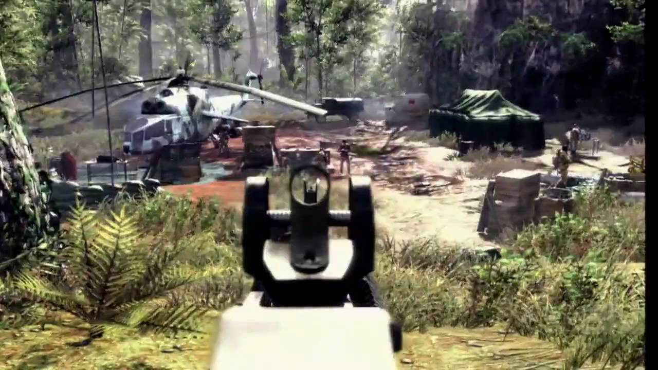 Call of Duty: Black Ops Gameplay Demo Pt. 1 - E3 2010 ...