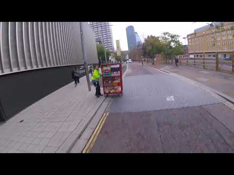 Southbank Delivery fails to look both ways