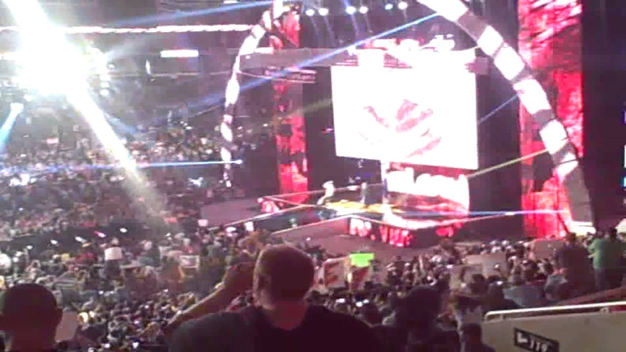 Brock Lesnar Entrance At SummerSlam 2013! - YouTube