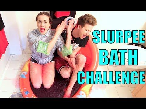 SLURPEE BATH CHALLENGE!