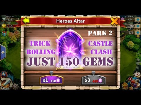 Castle Clash,new 100%working Trick To Get New Latest Legendary Heros