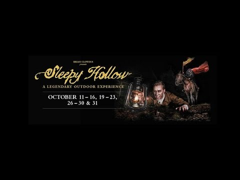 The Legend of Sleepy Hollow, The Headless Horseman's ride through Old Sturbridge Village