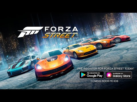 Forza Street: Pre-Register on Android Today