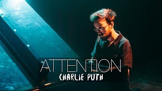 attention   charlie puth piano cover   costantino carrara