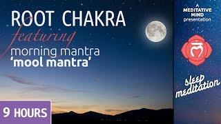 Sleep Chakra Meditation Music | ROOT CHAKRA |