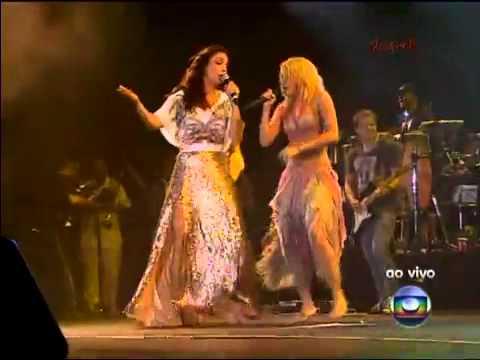 Shakira e Ivete Sangalo -  País Tropical - Rock in Rio