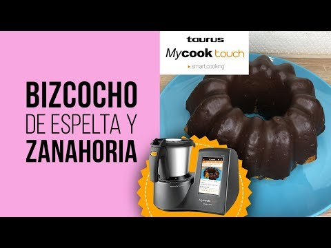 Bizcocho de Espelta, Zanahoria y Copos de Avena - RECETA de MyCook Touch [Robot de Cocina]