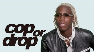 Yung Bans Reacts to a Life Size Transformer, Hermes Longboard, and Fish Slippers | Cop or Drop