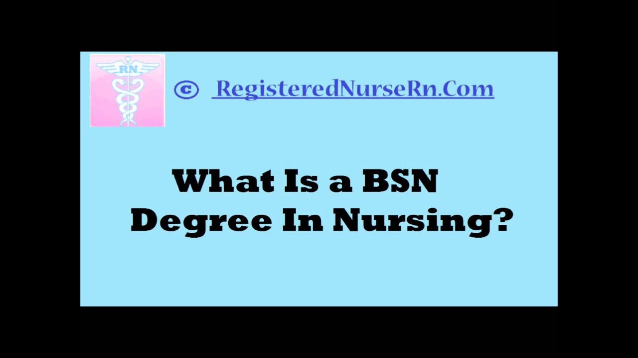 what is a bsn degree in nursing? - youtube, Cephalic Vein