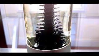 RIZE spinning ferrofluid sculpture