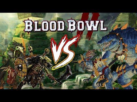 Bloodbowl 2 Playoffs! Blackiron's League: Sotek (Lizardmen) vs. Blackiron (Orcs)