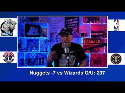 Denver Nuggets vs Washington Wizards 2/25/21 Free NBA Pick and Prediction NBA Betting Tips