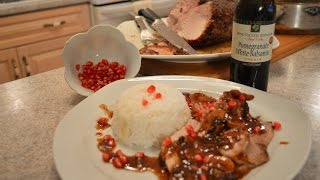 How To Cook Napa Valley Pomegranate White Balsamic Pork Loin Roast: Cooking With Kimberly