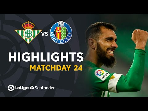 Betis Getafe Goals And Highlights