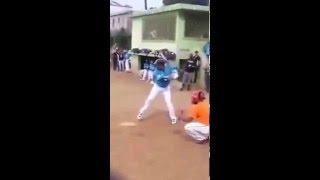 Robinson Cano playing Softball in Dominican Republic!