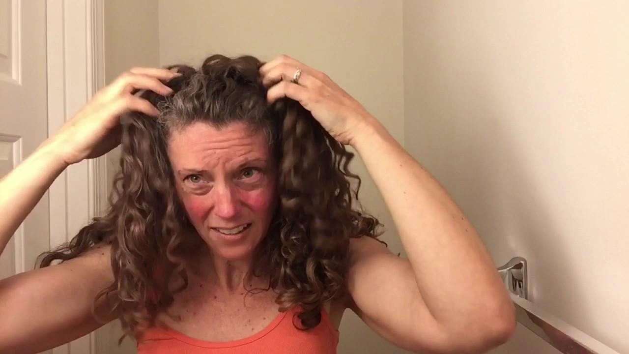 Continuous Comb Headband For Curls - YouTube a82ec097b1e