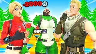 YOU LOSE, YOU GIFT w/SSUNDEE *NEW* Challenge In Fortnite Battle Royale
