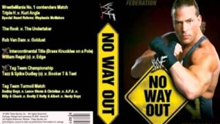 WWE No Way Out 2002 Theme Song Full+HD