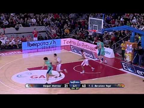 Liga Endesa Round 20 Highlights Show [Part 1/3] - ACB Spanish Basketball 2012-2013 from YouTube · Duration:  7 minutes 24 seconds