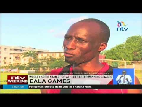 EALA Games: Wesley Korir named top athlete after winning 3 races
