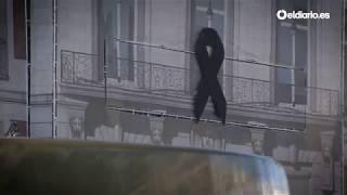 Bolardos y maceteros para proteger las calles peatonales de Madrid