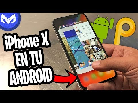 INSTALANDO ANDROID P POR PRIMERA VEZ Y SI SE COPIO DEL iPhone X LEGAL