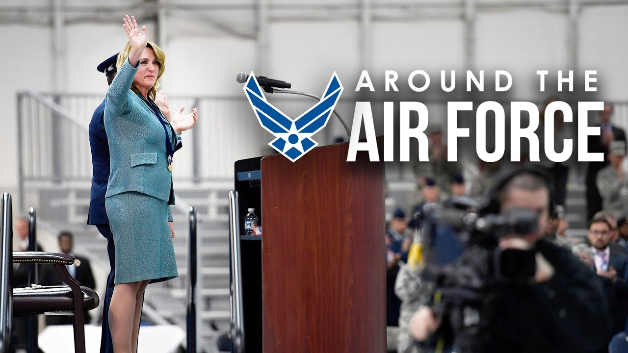 Around the Air Force: SECAF Farewell / Tattoo Policy Change - YouTube