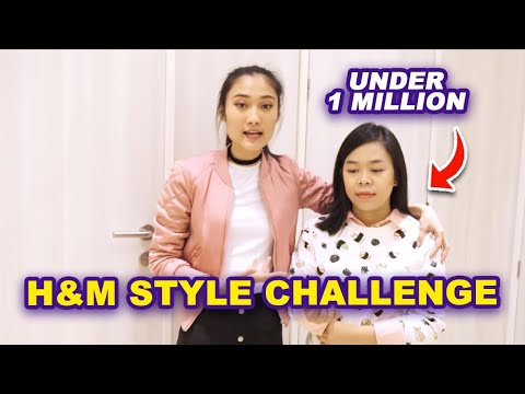 H&M STYLE Challenge | Shop Under 1 Million