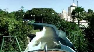 Busch Gardens Stanleyville Log Flume Ride Tampa Point Of View