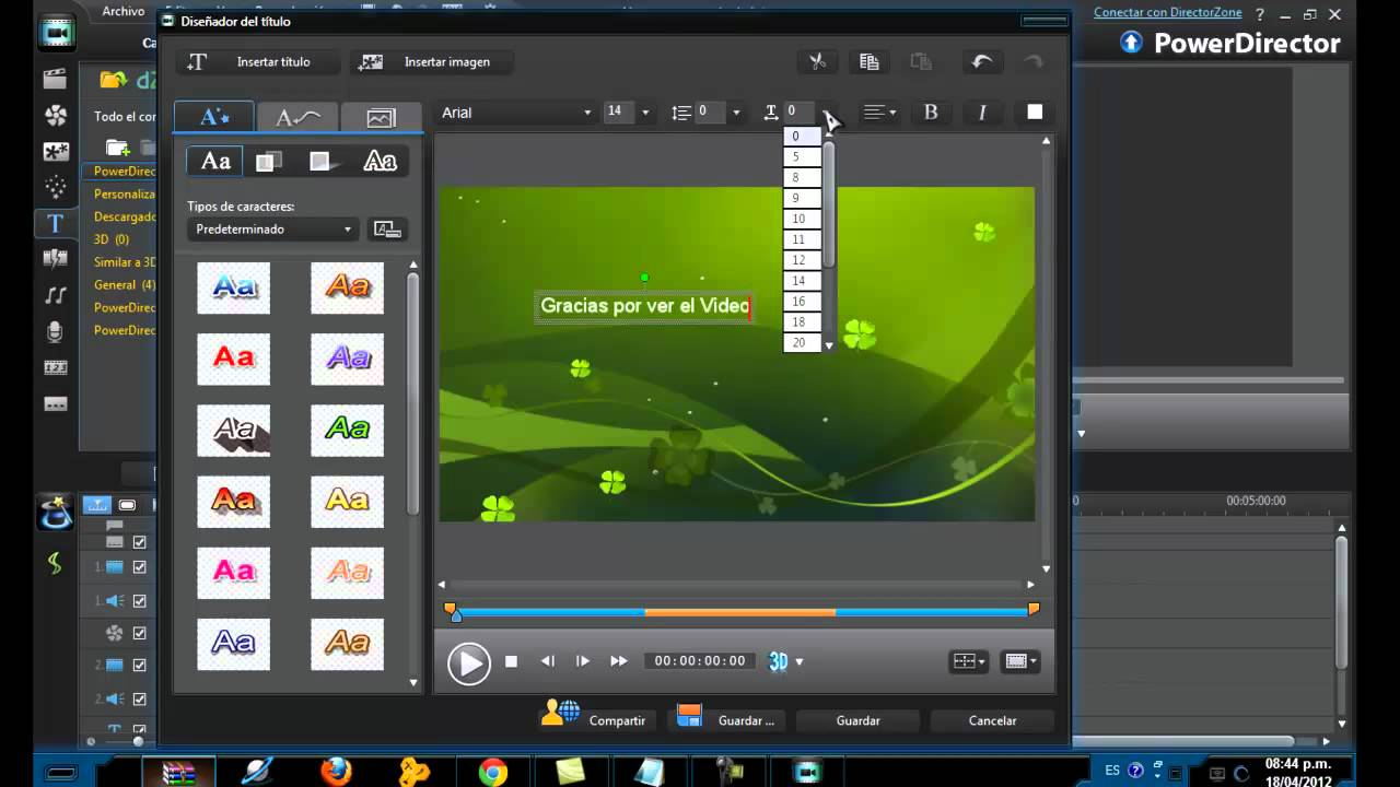 instalar y usar cyberlinkpower10 full editor y creador