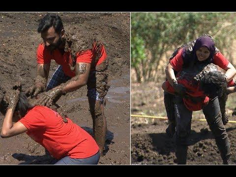 Made for Each Other Season 2 I Jabir & Rijin in Mannina Makkalu task I Mazhavil Manorama