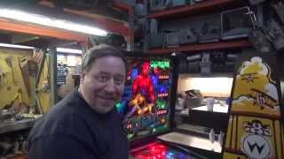 #600 Williams GORGAR Pinball Machine Overhaul with new LED Mods! TNT Amusements