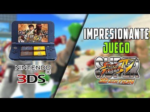 NINTENDO 3DS   Super Street Fighter 4 Edición 3D