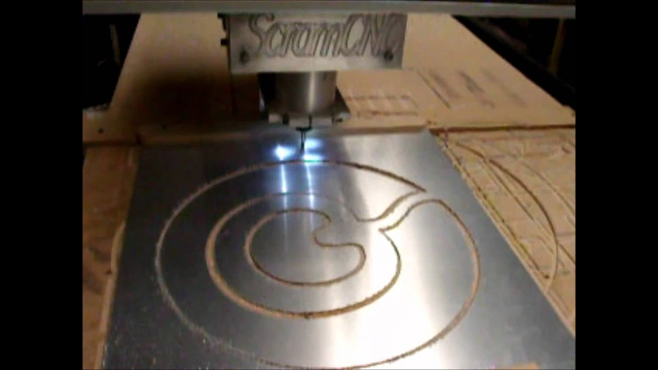 Cnc Scramcnc Sheet Metal Cutting Youtube