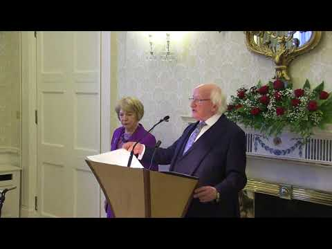 Speech by President Higgins at a Reception on International Women's Day 2018