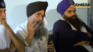 Do Sikhs have to wear a Dastar? Is that not just about respect? Bhai Joginder Singh (UK)