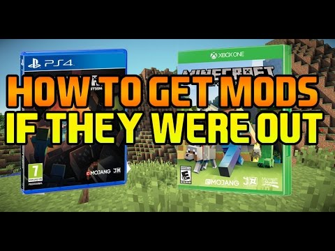 minecraft xbox one how to get mods